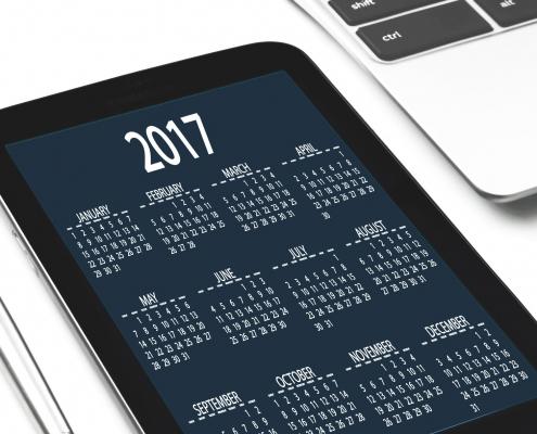 kalendarz rok 2017